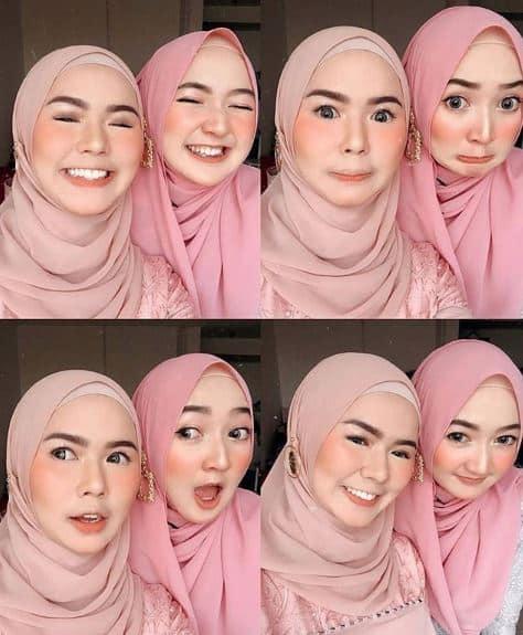 Hijab Syari Cantik Feminin
